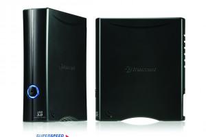 Back in Black: USB 3.0-HDD mit acht Terabyte Kapazität von Transcend