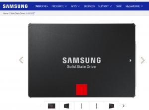 Samsung: Neue SSDs 850 Evo und 850 Pro mit zwei TByte Speicher