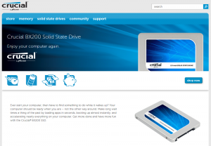 Günstige SSD von Crucial: BX200