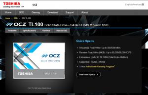 Toshiba OCZ TL100: Gut und Günstig