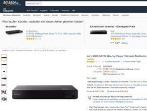 Sony BDP S6700: Vielseitiger Player voller Möglichkeiten