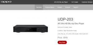 Oppo UDP-203: Die Referenz für 4K-Blu-Rays