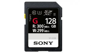 Sony SF-G128: Die Turbo-SD-Speicherkarte
