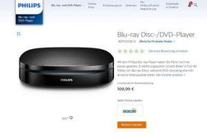 Blu-ray-Player Philips BDP3210: Eine runde Sache?