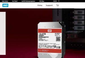Western Digital: NAS-Festplatten Red und WD Red Pro mit 10 TByte