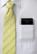 Externe Festplatte Fujitsu Handy Drive in der Tasche