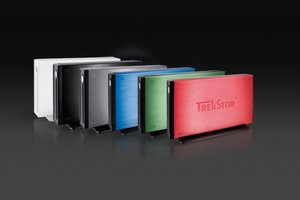 Farbenfrohe externe Festplatten: Trekstor DataStation maxi m.ub