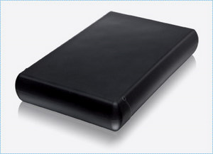 Gummi-geschützt: Die externe Festplatte Freecom HardDrive XS
