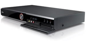 Kombi: LG HR 400 Blu Ray Player und Recorder