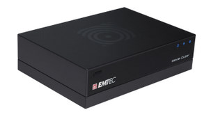 Movie-Zentrale: Emtec Movie Cube Q 120 Multimedia Festplatte