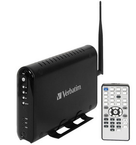 Funky: externe Festplatte Verbatim Media Station Pro Wireless