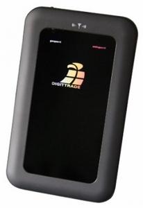 Chip-geschützt: externe Festplatte Digittrade RFID Security