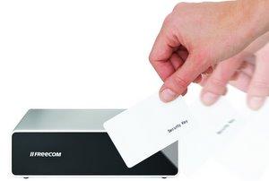 Günstig sicher: externe Festplatte Freecom Hard Drive Secure