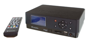 Format-Füllend: Verbatim Media Station HD DVR Multimedia Festplatte