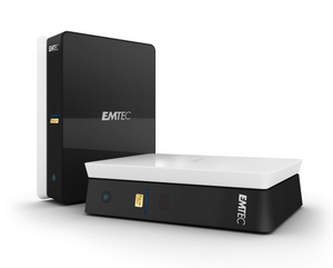 emtec movie cube s 120 h multimedia festplatte (Foto: Emtec)