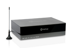 Schönes HDTV: Memup Media Disc ZX 1 TB externe Multimedia Festplatte