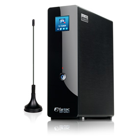 Nimmt auf: Fantec R 2650 externe Multimedia Festplatte