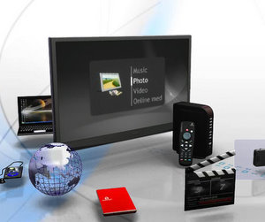 Günstig: Iomega Screen Play Director HD externe Multimedia Festplatte