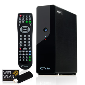 HDTV-Zuspieler: Fantec MM-HDRL externe Multimedia Festplatte