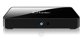 Neu und elegant: Fantec TV-FHDS Full HD Media Player