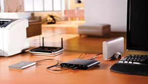 Zentrale Anlaufstelle: Iomega iconnect Data Station für externe Festplatten