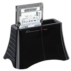 Praktisch: Xystec USB 3.0 Dockingstation DSU 3000 Duo für externe Festplatten