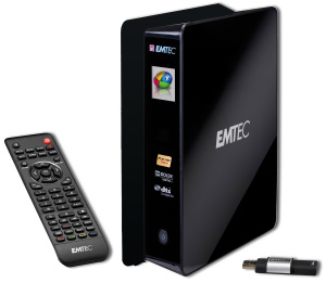 Emtec Movie Cube S850H Media Player und Recorder (Foto: Emtec)