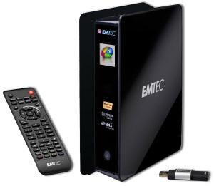 Nichts verpassen: Emtec Movie Cube S850H Multimedia Festplatte und Recorder