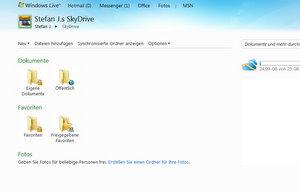 Online Festplatte SkyDrive quelle Microsoft