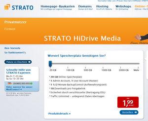 online-festplatte-strato-hidrive-media quelle strato