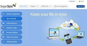 Flexibel: Sugarsync Online Festplatte