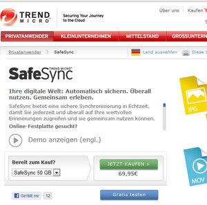 Praktisch: Trendmicro Online Festplatte