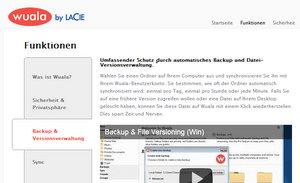 Mitmachen in der Cloud: Wuala Online Festplatte