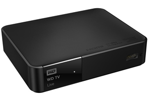 Multifunktional: Western Digital TV Live Media Player