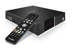 IcyBox IB-MP3011+ media player foto raidsonic