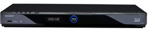 Frisch dabei: Sharp BD-HP25S 3D Blu Ray Player