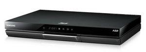 Mit Festplatte: Samsung BD-D8509 3D Blu Ray Player und Recorder
