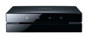 Würfel-Design: Samsung BD-ES6000 3D Blu Ray Player
