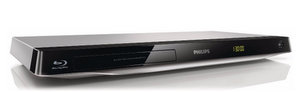 Elegant mit Silber: Philips BDP3310 3D Blu Ray Player