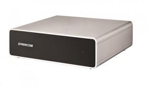 Angeschlossen und los geht's: die Freecom Hard Drive Quattro 3.0 3TB