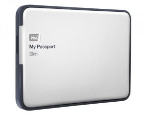 My Passport Slim: dünne 2TB Festplatte für die Hosentasche
