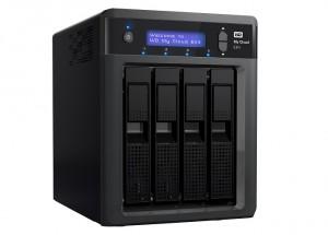 WD My Cloud EX4: Persönliches Cloud-Storage-System mit vier Schächten