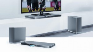 LG-Soundplate mit Blu-ray-Player