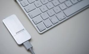 Artikel stellt die Freecom mSSD 265GB vor.