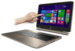 Neues Medion-Notebook wird zum Tablet