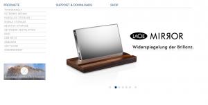 Auch was für die Augen: LaCie bringt Edelfestplatte auf den Markt