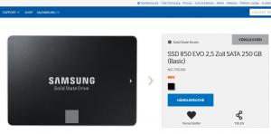Neue SSD-Serie 850 EVO von Samsung